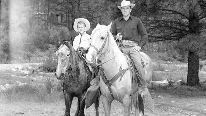 Contact Lyn Kidder at words0250@gmail.com to help identify the two cowboys in the Carmon Phillips photograph.