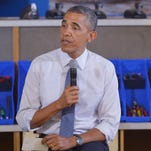 President Obama speaks about the capture of Ahmed Abu Khatallah following a tour of TechShop Pittsburgh.