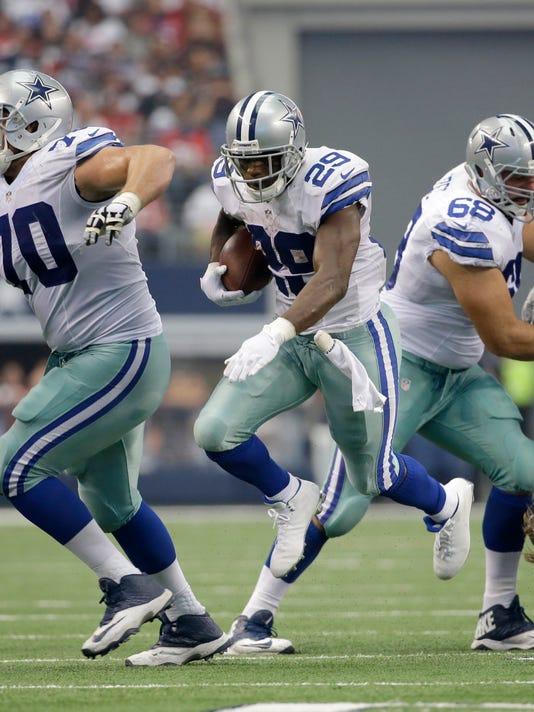 Cowboys Murray Blockers Football
