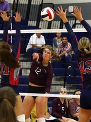 Calallen's Alexis Sacky and the Wildcats will take on district rival Tuloso-Midway on Tuesday.