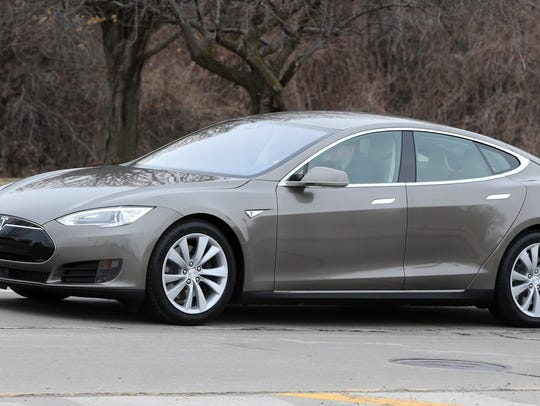 """The Tesla Model S earned an """"above average"""" reliability"""