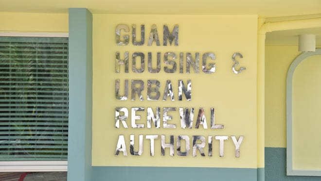 Guam Housing and Urban Renewal Authority offices.