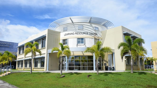 Guam Comminuty College photographed on Sept. 2, 2015.