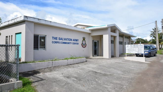 The Salvation Army Community Center in Mangilao photographed on Sept. 2, 2015.