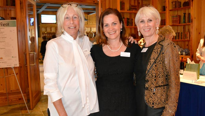 Congratulations to Childcare Resources of Indian River for surpassing their fundraising goal at this year's Starfest Fundraiser at Quail Valley River Club. The agency raised more than $200,000. In this photo: Judy Munn (Starfest co-chair), Shannon McGuire Bowman (Childcare Resources Executive Director), Karla Spooner (Starfest co-chair)