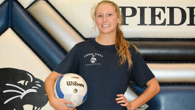 Piedra Vista's Haley Golden will help lead a young Lady Panthers squad in 2017.