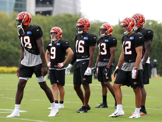 Cincinnati Bengals training camp, Aug. 11