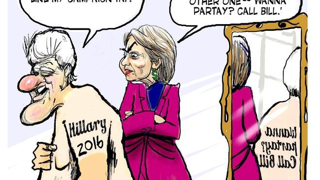 Ken Catalino, Creators.com, drew this editorial cartoon.