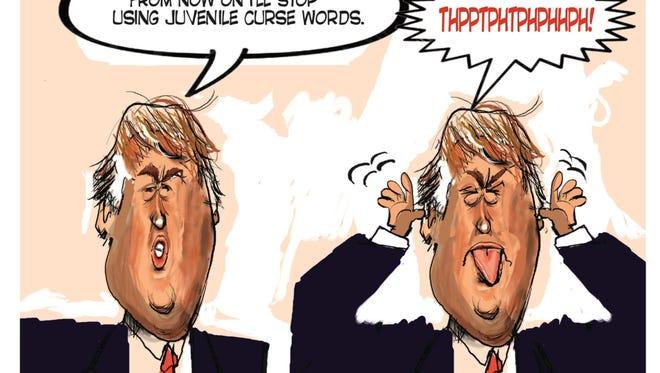 Ken Catalino, Creators.com, drew this Desert Sun editorial cartoon for Feb. 17, 2016.