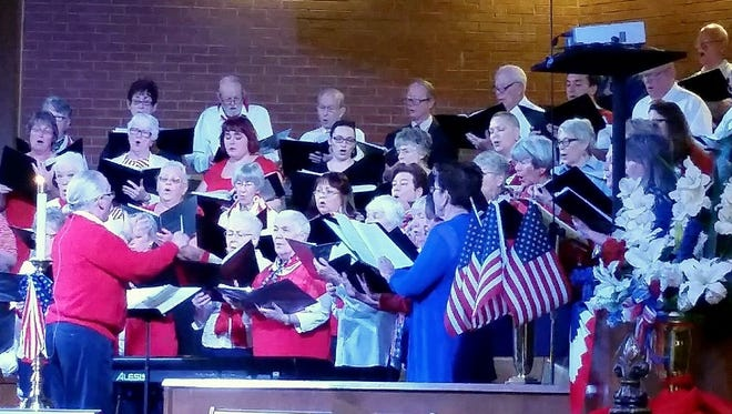 St. Paul's United Methodist Church, 225 W. Griggs Ave. in Las Cruces, hosted a tribute Friday evening to mark Veterans Day. The celebration included chorale performances and guest speakers.
