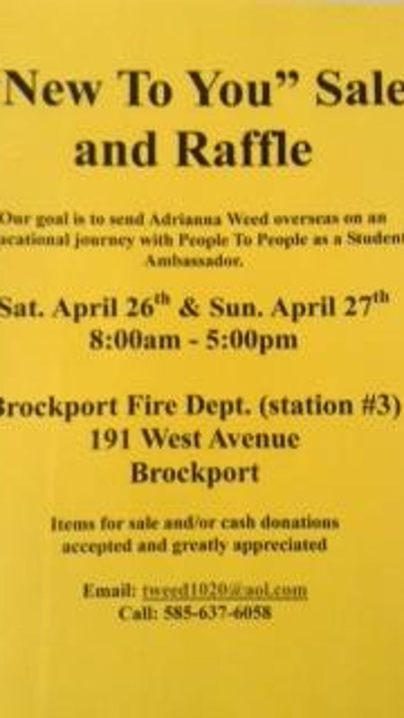 brockport sale flier
