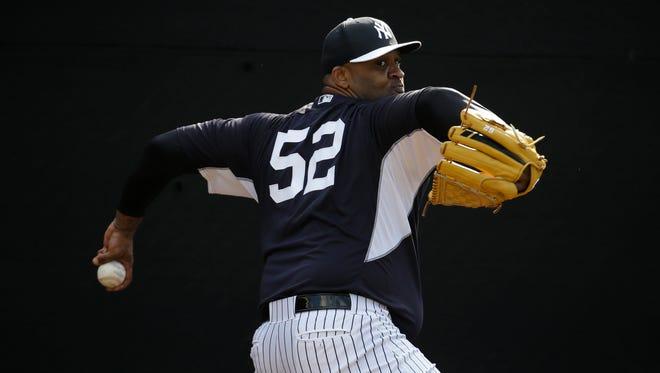 The Yankees' CC Sabathia felt good after Sunday's bullpen session.