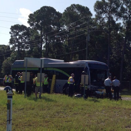 A serious accident is between a PSTA Bus and an Acura MDX happened Thursday morning in St. Pete.