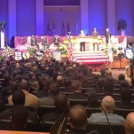 Funeral for Detroit Police Officer Darren Weathers: 'He was looking to touch kids lives'