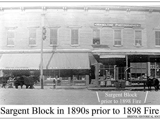 1890- Sargent Block