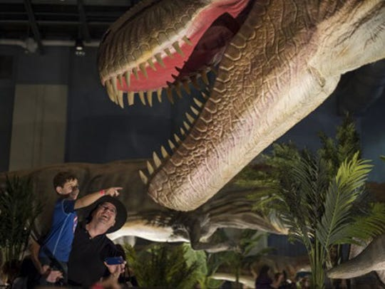 Jurassic Quest comes to Duke Energy Convention Center this weekend.