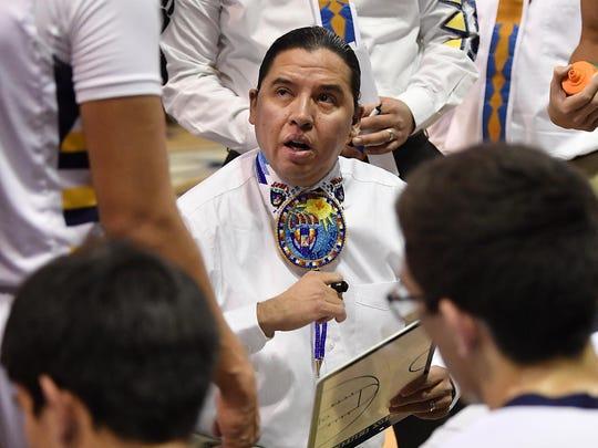 Box Elder School Superintendent Jeremy MacDonald also serves as the Bears' boys basketball coach.