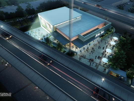 A rendering of what the TLH Arts, Inc. project would