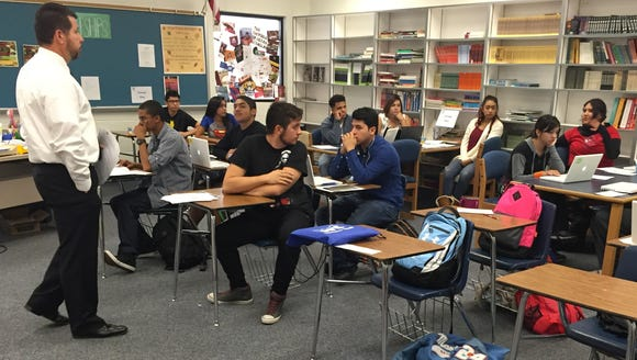 Anthony High School seniors ask questions about applying