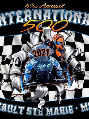 53rd Annual International 500 Race logo.