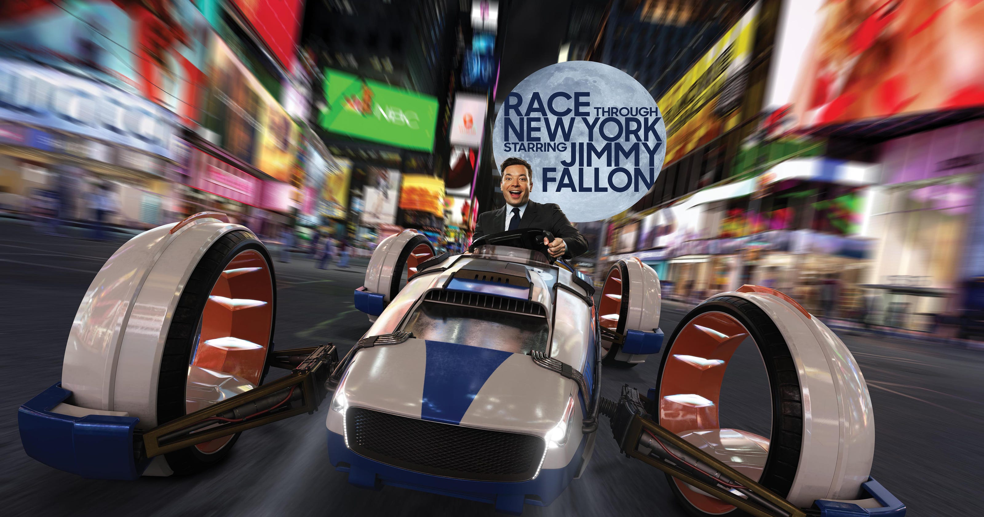 Jimmy Fallon's Race Through New York ride review