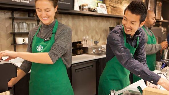 Starting Monday, Starbucks baristas can dress more