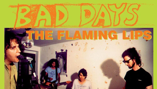 "The cover of the Flaming Lips' ""Bad Days"" vinyl, released for Record Store Day."