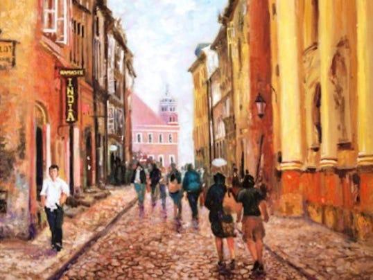 """""""Poland"""" by Mario Parra."""