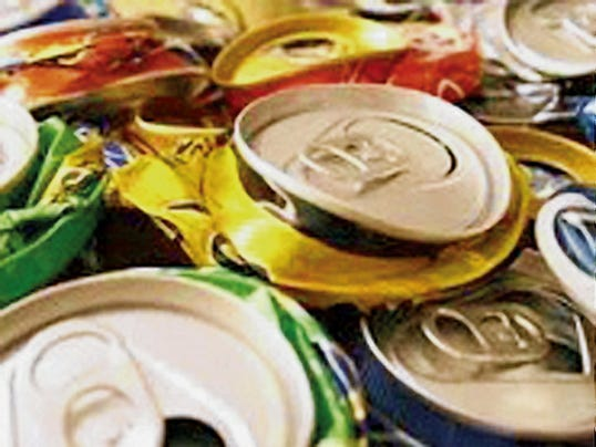 Aluminum recycling is down in Lincoln County. See story for area collections sites.