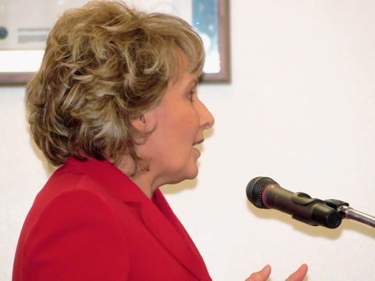 District Judge Karen Parsons.