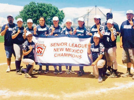 Courtesy Photo   Silver All-Stars won the Senior League state tourney and are in action at Regionals.