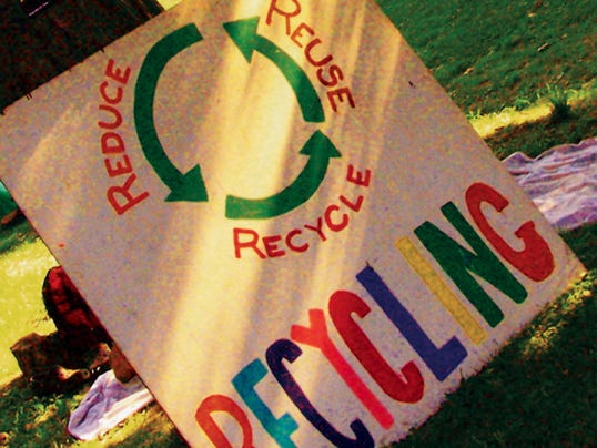 Reuse, reduce and recycle.