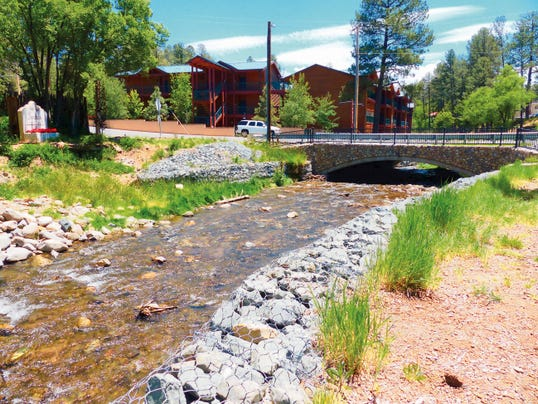 Approvals were required from state and federal agencies before Ruidoso could install a new bridge at Eagle Drive over the Rio Ruidoso after a major flood in 2008.