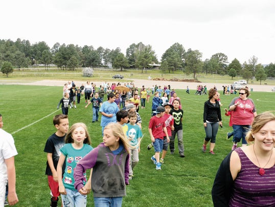 Last year's annual White Mountain Elementary School Walk-a-thon raised more than 12,000 for much need laptop computers for classrooms.