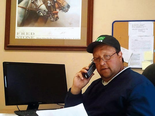 Ruidoso Downs Race Track racing secretary Johnny Montes.