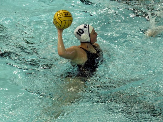 Central York High School graduate Taylor Reed excelled as water polo player during her freshman season at Penn State Behrend.