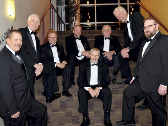The Towne Singers, some of whom are pictured here, will perform a spring concert at May 31 at Trinity Evangelical Lutheran Church, Greencastle.