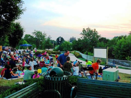 Catch a movie at dusk each second Saturday this summer at Chambers Fort Park. (Submitted)