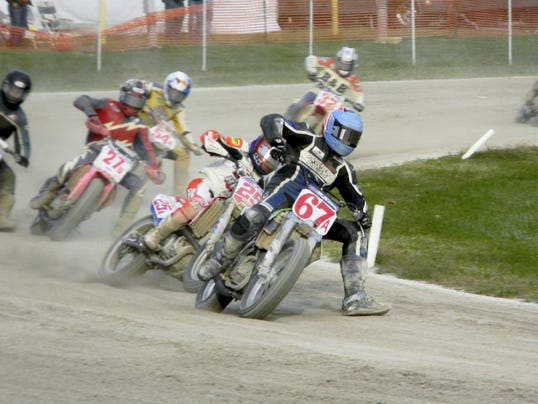 Wild and woolly flat-track racing is the highlight of the three-day White Rose Thunder motorcycle event this weekend at the York Expo Center.