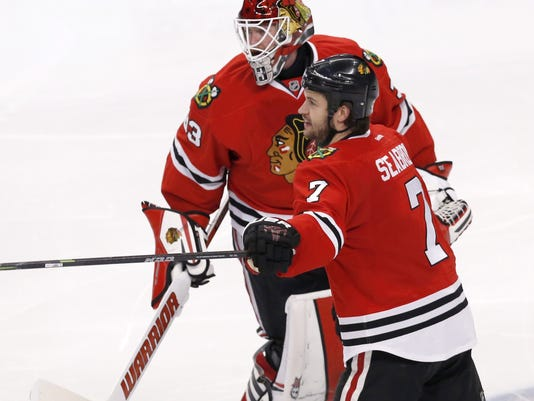 Scott Darling, Brent Seabrook