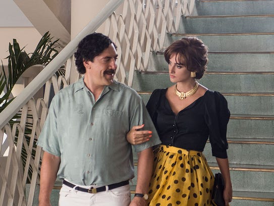 In 'Loving Pablo,' Penelope Cruz plays Pablo Escobar's