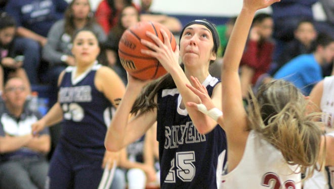 Silver's Katelyn Limardo had 13 points against Deming during Tuesday night's win.