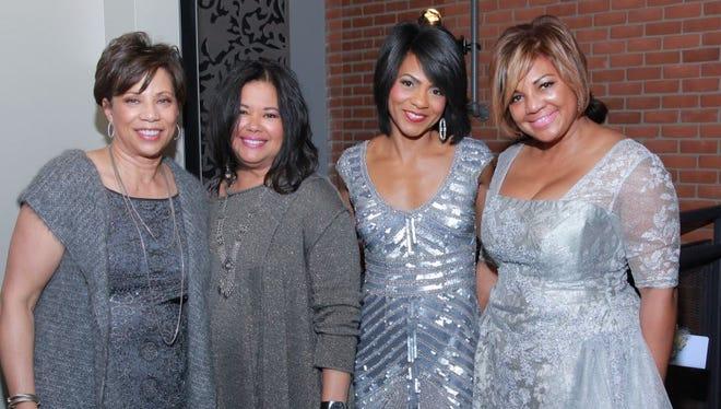 Renaissance Links members Gail Stallworth, left, Robyn Markoe, Rhonda Walker and chapter president Wendy Turner Lewis.