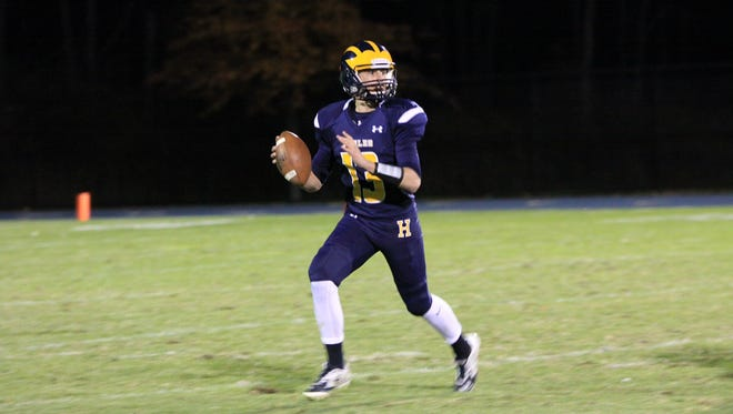 Brad Ekonen led the Eagles to their first victory of the season over Milford on Friday night.