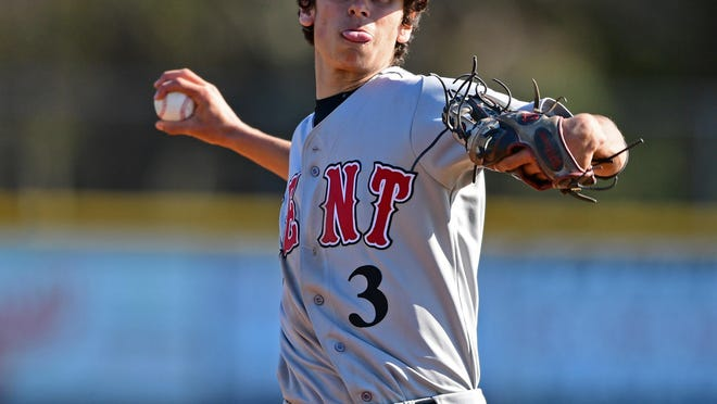 Kent Roosevelt's Zac Common will be part of a Stow-Kent team taking on Hudson at Canal Park on Saturday night.