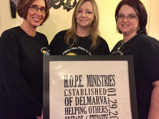In this March 30, 2017 photo, HOPE Ministries of Delmarva