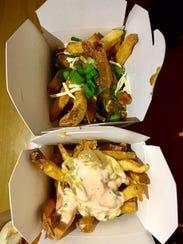 Los Banditos Hot Dog Speakeasy's criminal style fries