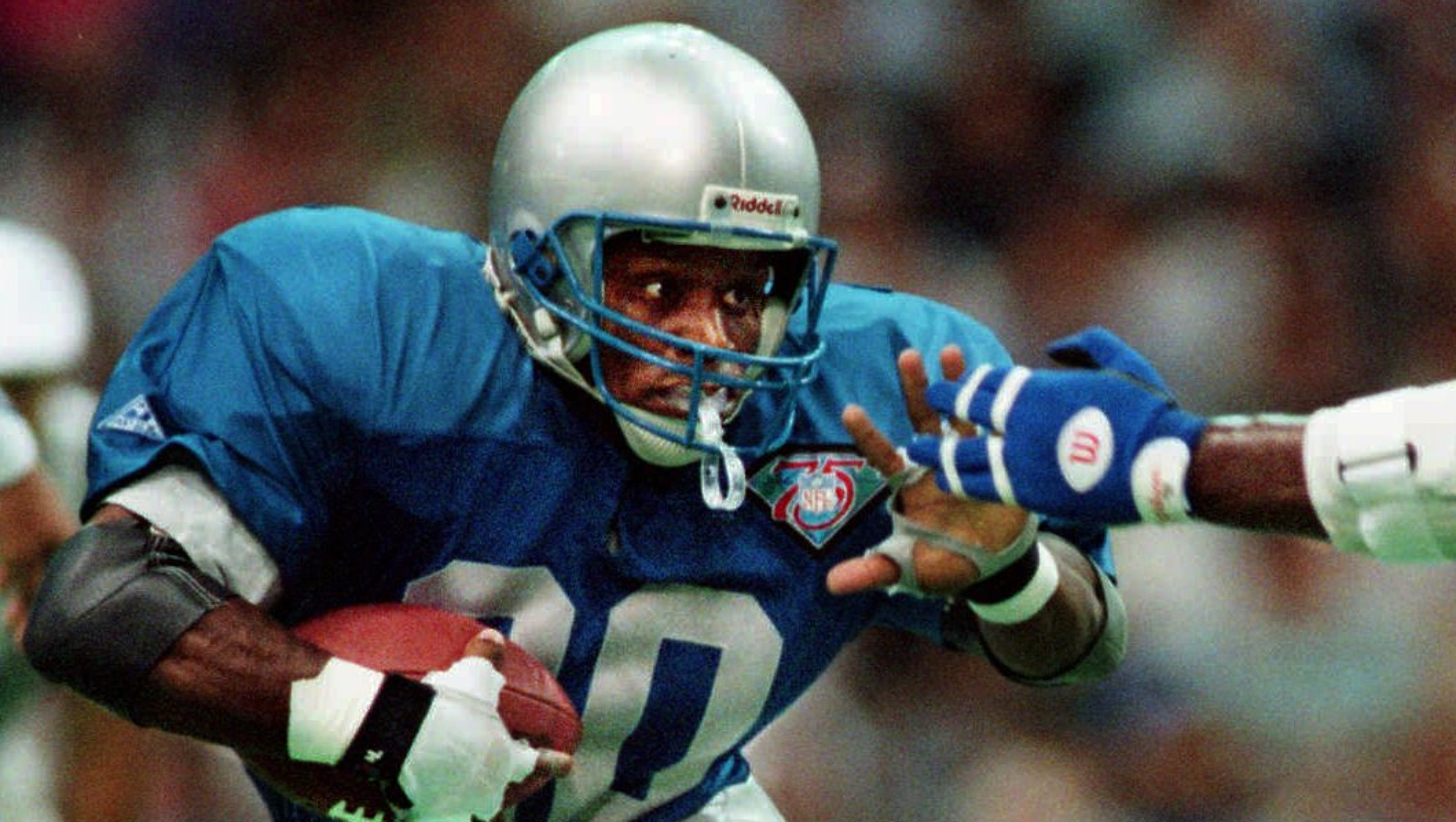 a research on the life and career of barry sanders Barry sanders, (born july 16, 1968, wichita, kansas, us), american  with  15,269 career rushing yards and 99 rushing touchdowns, sanders.
