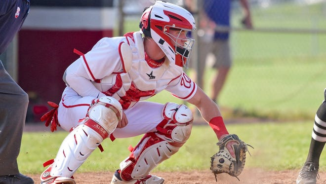 Lakota West senior catcher Keegan Fish was drafted Wednesday, June 6, 2018, by the Miami Marlins in the 13th round of the Major League Baseball Amateur Draft.
