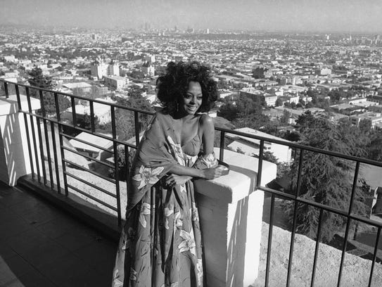 Diana Ross in 1971